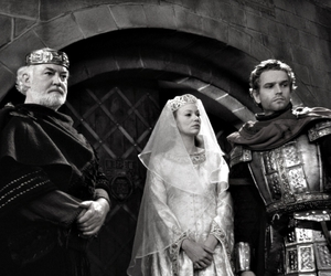 black and white, movie, and the mists of avalon image