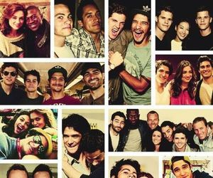 cast, holland roden, and teen wolf image