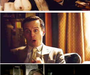 sherlock, moriarty, and benedict cumberbatch image