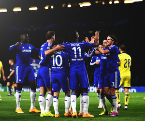 Chelsea, champions league, and cesc fabregas image