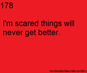 life, scared, and text image