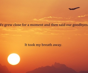 quote, sunset, and love image