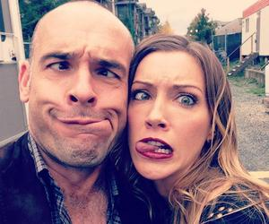 arrow, paul blackthorne, and katie cassidy image