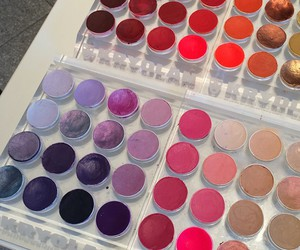 colorful, pink, and cosmetics image