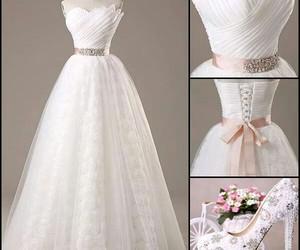 wedding dress and fashion image
