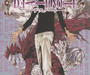 cover, manga, and light yagami image