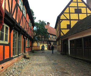 denmark, aarhus, and the old town image