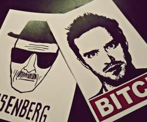 bitch!, breaking bad, and jesse pinkman image
