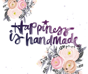 happiness, quotes, and handmade image