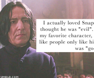 harry potter, snape, and totally agree image