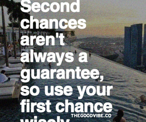 quote, background, and chances image