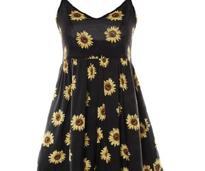 dress and sunflower image