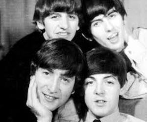 the beatles, Paul McCartney, and george harrison image