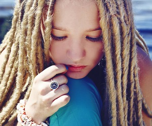 dreads, hair, and rasta image