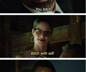 Felicity and bitch with wifi image
