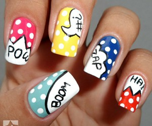 nail designs and full colors image