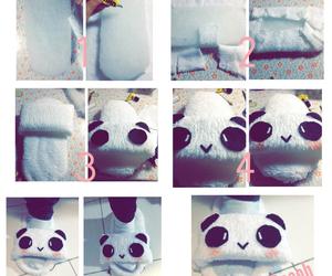 diy, kawaii, and panda image