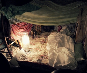 abajour, bedroom, and fort image