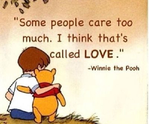 winnie the pooh and love image