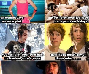 all time low, funny, and jeans image