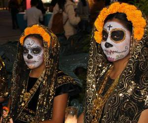day of the dead, dia de muertos, and mexico image