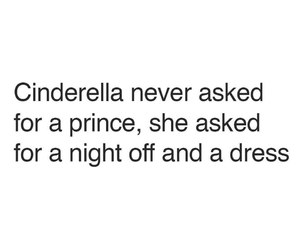 cinderella, dress, and prince image