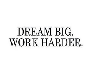 Dream, work, and life image
