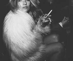 kate moss, fashion, and cigarette image
