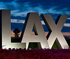 LAX, airport, and los angeles image