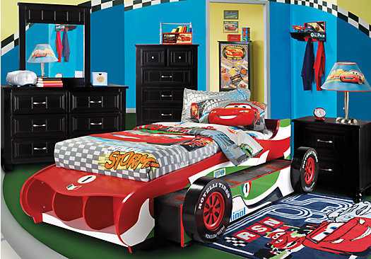Bedroom Designs The Wonderful Decoration Of The Toddler Boy Bedroom Themes With The Best Furniture Design The Nice Deisgn Of Toddler Bedroom Themes With Car Shape With Red Color Of Bed Also