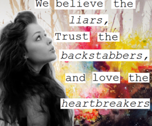 love, heartbreakers, and Liars image