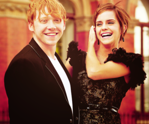 emma watson, rupert grint, and harry potter image