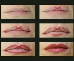 how to, tutorial, and lipstick image