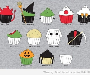cupcakes and Halloween image