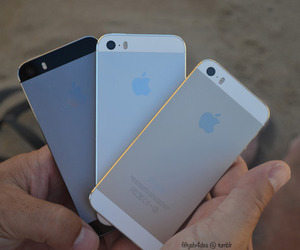 iphone, gold, and tumblr image