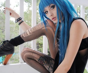 alternative, blue hair, and sexhair image