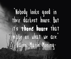 black and white and quote image
