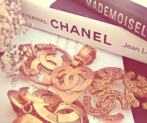 chanel, girly, and book image
