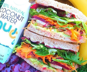 food, fit, and sandwich image