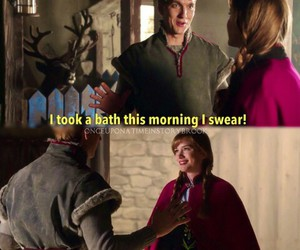 anna, once upon a time, and kristoff image