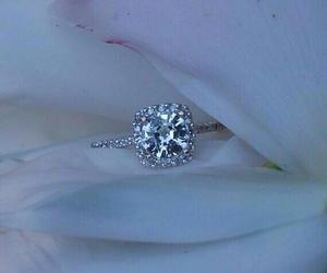 bling, diamond, and ring image