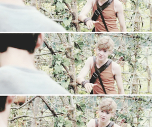 cute boys, newt, and the maze image