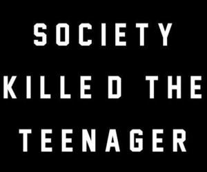 death, teenager, and true image