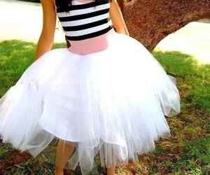 fashion, dress, and stripes image