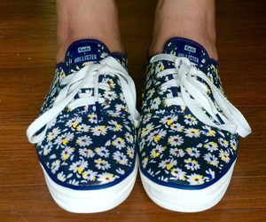 fashion, floral, and keds image