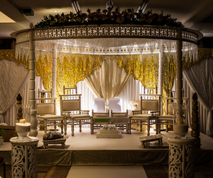 asian, mandap, and ceremony image