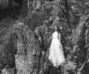 dress, nature, and stunning image