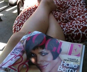 fashion, legs, and magazine image