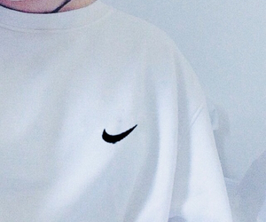 nike, 白, and 女孩 image