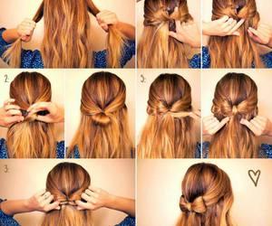 art, braid, and brunette image